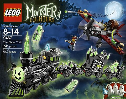 #9467 LEGO Monster Fighters Ghost Train