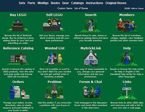 BrickLink - LEGO Marketplace