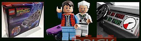 LEGO Back to the Future DeLorean Time Machine Description