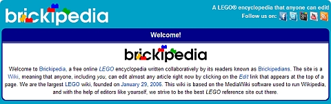 LEGO Brickipedia