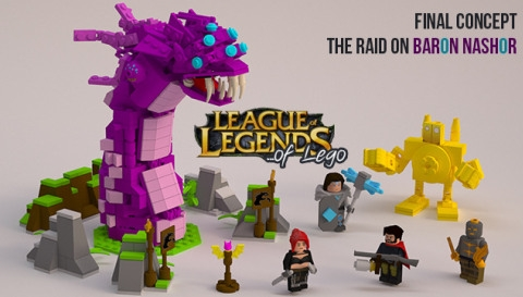 LEGO CUUOO League of Legends