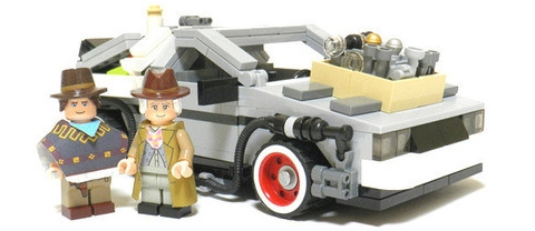 LEGO CUUSOO Dolorean Time Machine
