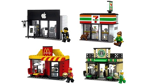 LEGO CUUSOO Mini Shops