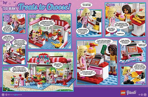 LEGO Comic - LEGO Friends 1