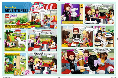 LEGO Comic - LEGO Friends 2