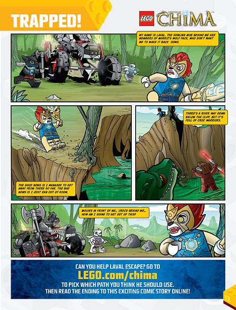 LEGO Comic - Legends of Chima