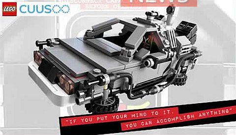 LEGO DeLorean Time Machine - Official Set