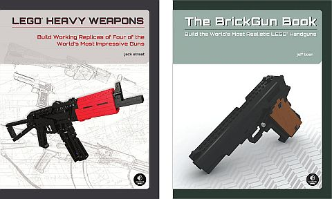 LEGO Gun Instruction Books