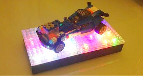 LEGO Light Base Display by LiteUpBlock