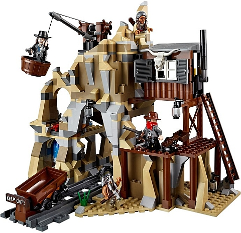 LEGO Lone Ranger Silver Mine Shootout Review Image