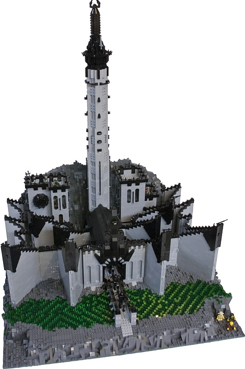 LEGO Lord of the Rings Minas Morgul by Dave and Stacey Sterling