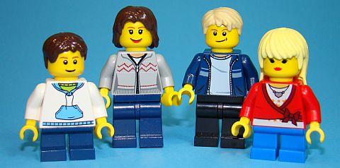 LEGO Magazine Family
