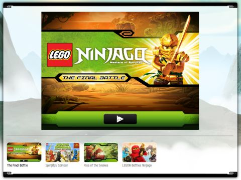 LEGO Ninjago Final Battle Game