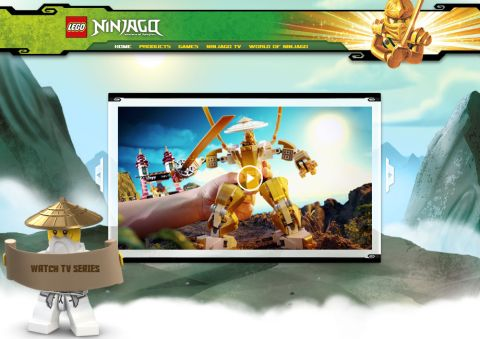 LEGO Ninjago Website