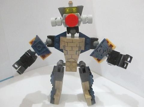 LEGO Robot MOC 4 by Fikko