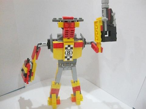LEGO Robot MOC 6 by Fikko