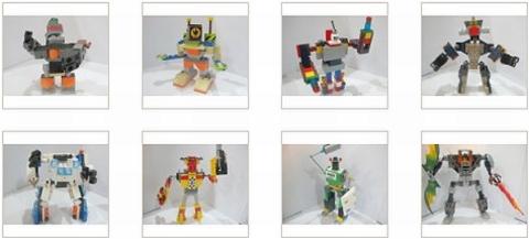 LEGO Robots by Fikko