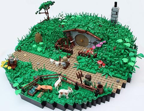 LEGO The Hobbit Hobbiton by Brick Vader