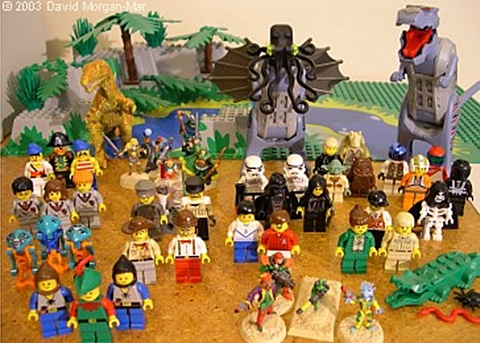 LEGO Webcomic Characters