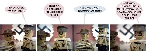 LEGO Webcomic - Cliffhangers