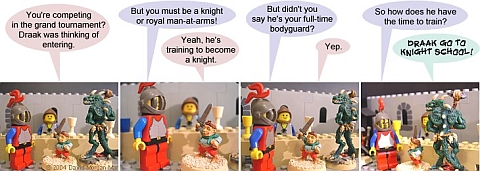 LEGO Webcomic - Comic Strip