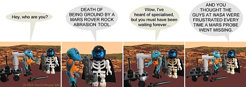 LEGO Webcomic - Death