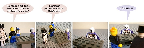 LEGO Webcomic - Mythbusters