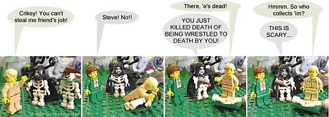 LEGO Webcomic - Steve & Terry