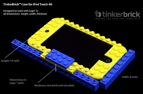 LEGO iPhone and iPad Case Dimensions by TinkerBrick