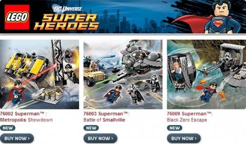 New LEGO Super Heroes Sets