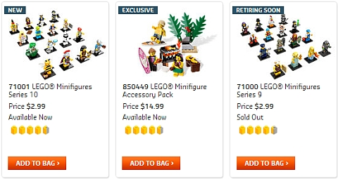 Shop for LEGO Minifigures