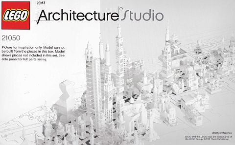 #21050 LEGO Architecture Studio Ideas