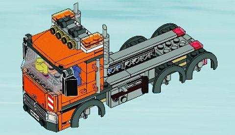 #4434 LEGO City Dump Truck Back Details