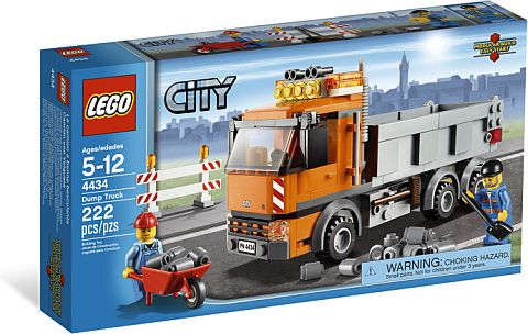 #4434 LEGO City Dump Truck Review