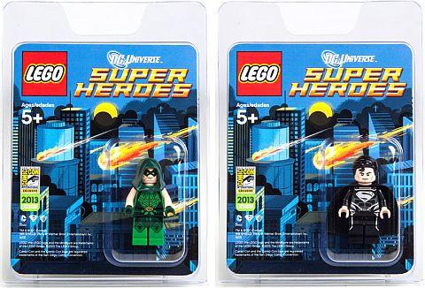 Comic Con LEGO Super Heroes DC Universe