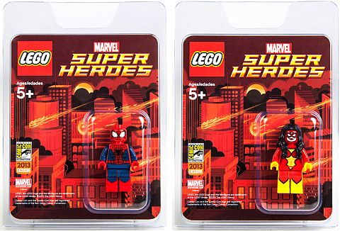 Comic Con LEGO Super Heroes Marvel