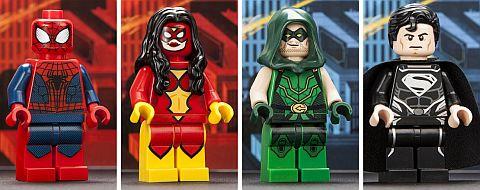 Comic Con LEGO Super Heroes Minifigures