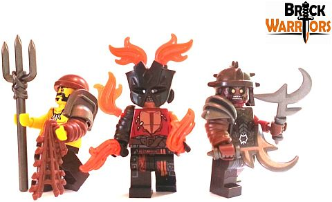 Custom LEGO Gladiator Items by BrickWarriors