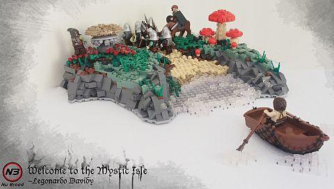 Irregular LEGO Base by Legonardo
