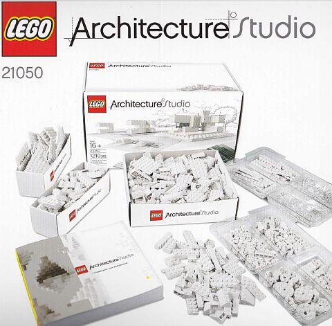 LEGO Architecture Studio Content