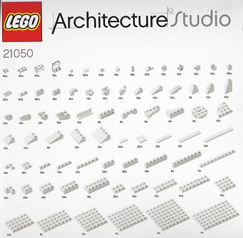 LEGO Architecture Studio Elements