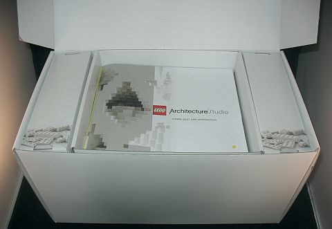 LEGO Architecture Studio Opening the Box