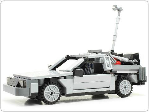 LEGO Back to the Future DeLorean by Ichiban Toys