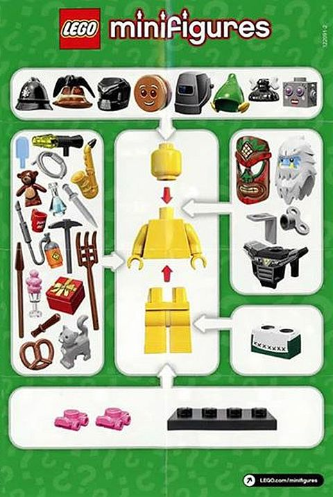 LEGO Collectible Minifigs Series 11
