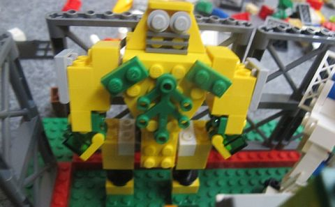 LEGO Contest - Build Your World Robot 1