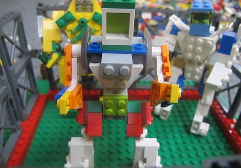LEGO Contest - Build Your World Robot 2