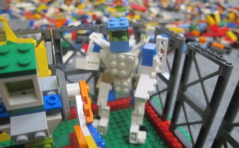 LEGO Contest - Build Your World Robot 3