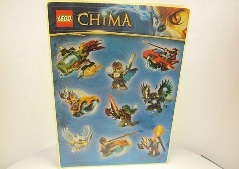 LEGO Contest Chima Stickers