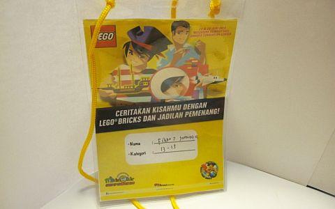 LEGO Contest Name Tag