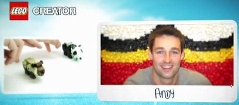 LEGO Designer Andy Sheenan